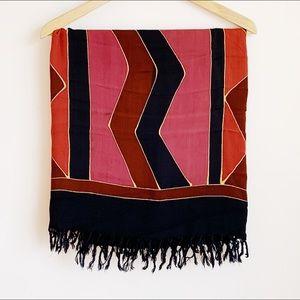 extra soft 90s-style sarong/wrap/beach blanket